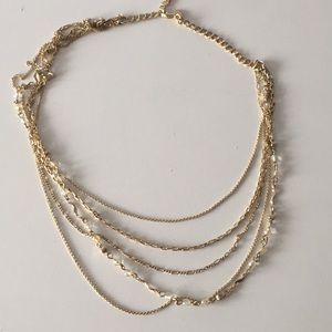 Stella & Dot multi strand chain
